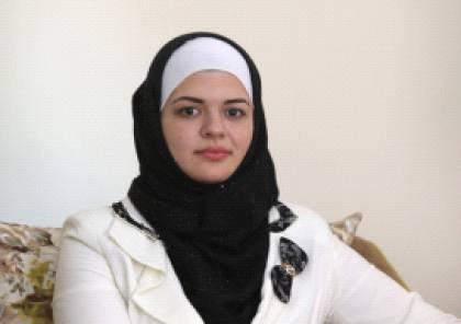 """""""أديان""""... سفيرة الإبداع الفلسطيني :تحفظ 35 مليون معلومة في 100 الف سنة"""