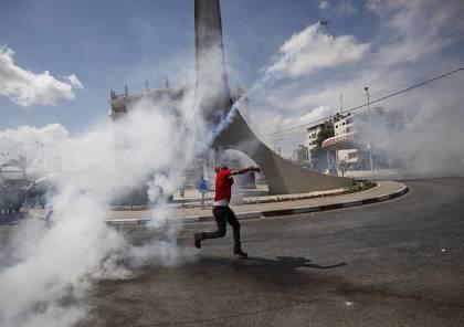 عشرات الإصابات بقمع الاحتلال لمسيرتي كفر قدوم و نعلين