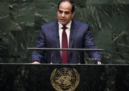 السيسي: قضية فلسطين تضيع  بسبب قرارات غير مفعلة وصراع الأشقاء وانقسامات داخلية