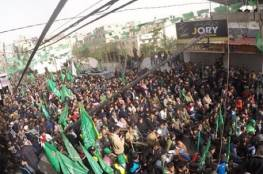 حماد يهدد بخطف مزيد من جنود الاحتلال.. عشرات الآلاف من أنصار حماس يشاركون في احياء انطلاقتها بغزة