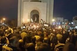 رفح تتظاهر اجتجاجا على ازمة الكهرباء وحماس جاهزة للتعاطي مع اي حلول للازمة