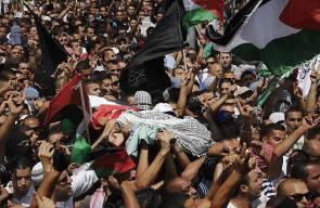 انتفاضة القدس وتشييع الشهيد محمد خضير