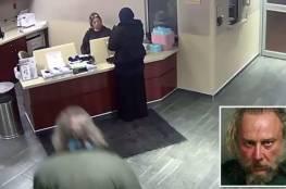 فيديو.. محجبة تتعرض لاعتداء وحشي في ميشيغان الأمريكية