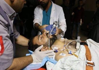 """تحسن على الحالة الصحية للصحفي الجريح """"ياسر قديح"""""""