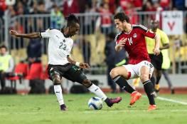 مصر تفوز على غانا بهدفين في تصفيات المونديال (فيديو)