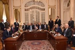 اجتماع فلسطيني مصري اردني في العاصمة المصرية القاهرة
