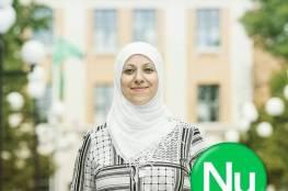 """اللاجئة الفلسطينية مريم لـ """"سما"""" : إن فزت في البرلمان السويدي فأنا اول محجبة في اوروبا تدخل برلمانا"""