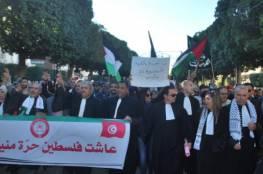 استمرار الاعتصامات في تونس لتجريم التطبيع مع اسرائيل