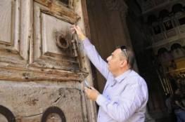 أمين مفتاح كنيسة القيامة يعلن رفضه استقبال نائب ترمب