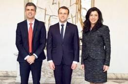 """وزيرة الاقتصاد الفلسطيني تلتقي نظيرها الاسرائيلي """"كوهين"""" في قصر الاليزيه بباريس"""