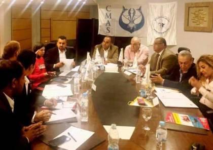 فلسطين شاركت في اجتماعات الاتحاد العربي للغوص