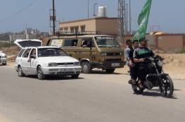 غزة تشيع جثامين 3 شهداء قضوا بقصف اسرائيلي