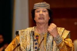 """شاهد: القذافي يطلّ من قبره """"فنيّا"""" عبر أغنية من كلماته"""