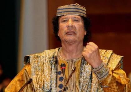 فيديو نادر.. القذافي كما لم يره أحد من قبل!