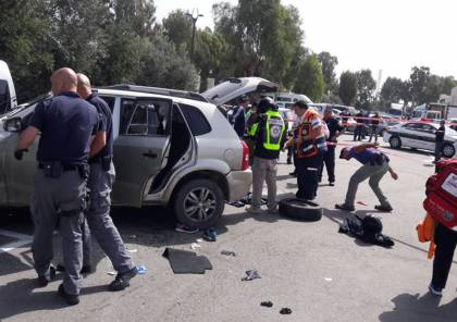 صور وفيديو : إطلاق نار على سائق بعد دهسه 3 جنود إسرائيليين في عكا