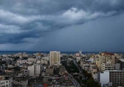 طقس فلسطين : امطار غزيرة وثلوج فوق القمم العالية مساء اليوم