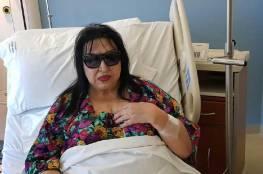 سميرة توفيق في المستشفى وطبيبها يطمئن جمهورها