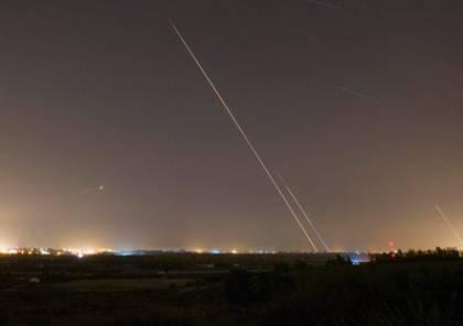 فيديو: المقاومة تطلق أكثر من 20 صاروخاً صوب مستوطنات غلاف غزة