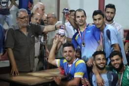 فريق الشهيد محمود القيشاوي يفوز بكأس البطولة الرمضانية