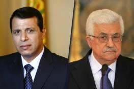 مصادر : ضغوط لعقد مصالحة بين الرئيس عباس و دحلان