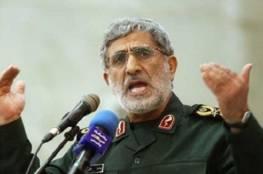 """قائد """"فيلق القدس"""" : إسرائيل لا تتجرأ على خوض حرب كالرجال ونهايتها قد اقتربت"""