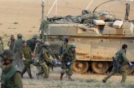 جيش الاحتلال يقرر إجراء مناورات عسكرية عاجلة في كافة أرجاء الدولة العبرية حتى نهاية الأسبوع