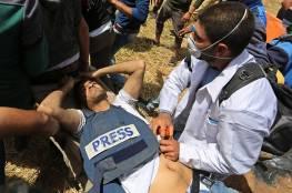 جيش الإحتلال يزعم عدم مسؤوليته عن استهداف الصحافيين