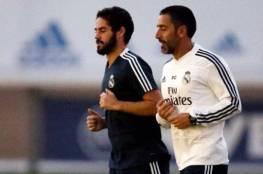 ريال مدريد يتلقى أنباء سارة بعودة إيسكو ومارسيلو للتدريب