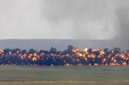 المعارضة السورية : طائرات روسية تكثف غاراتها على إدلب وريف حلب