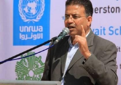 الاونروا : لا معلومات لدينا حول خطة الاحتلال الاسرائيلي لاغلاق مؤسساتنا بالقدس