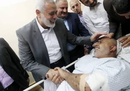 صور.. محاولة اغتيال فاشلة لمدير قوى الامن الداخلي بغزة اللواء توفيق ابو نعيم