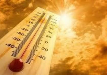 حالة الطقس: اجواء حارة وجافة