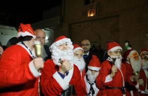 احتفالات اعياد الميلاد في غزة