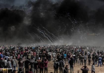 غزة: اضراب شامل واصابات برصاص الاحتلال الاسرائيلي في مليونية العودة شرق قطاع غزة