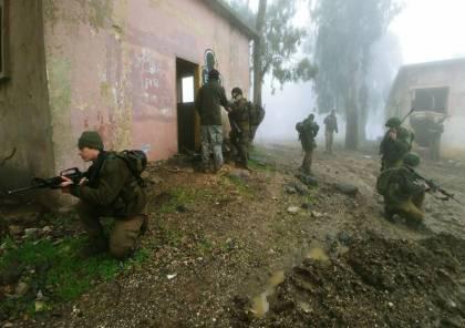 بالصور: جيش الاحتلال يتدرب على زج قوات المدفعية للقتال البري في الحروب