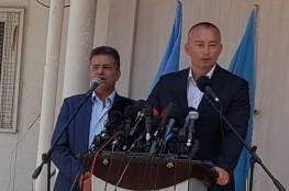 ميلادنوف : نعمل على حل مشكلة اسرى اسرائيل لدى حماس وفرص التصعيد في غزة كبيرة