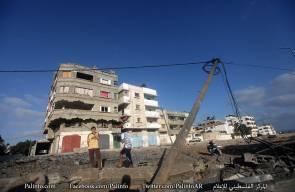القصف الاسرائيلي على غزة