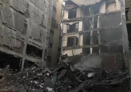 بالأسماء .. 8 مباني مدنية ومؤسسات حكومية قصفها الاحتلال في غزة