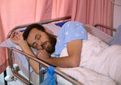 نقل الأسير القيق إلى مستشفى أساف هروفي