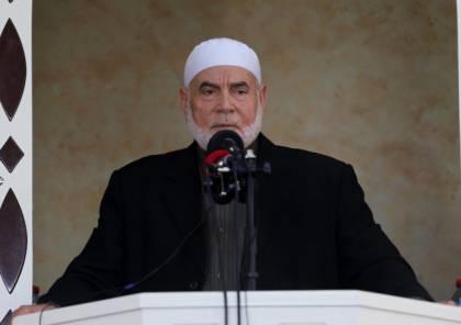 احمد بحر يؤكد استمرار المقاومة في الاعداد وحفر الانفاق