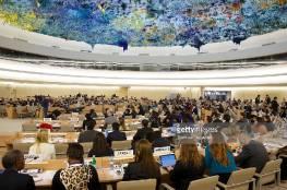 مجلس حقوق الإنسان يعقد جلسة نهاية الشهر الجاري بحضور أبو مازن
