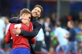 سيميوني يعلق على شائعات انتقال جريزمان إلى برشلونة