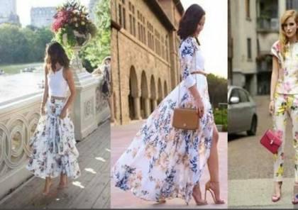 هذه النقوش تغزو الموضة النسائية هذا الصيف