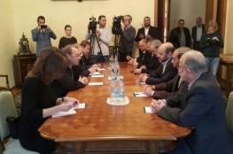 موسكو ستعقد حواراً فلسطينياً شاملاً منتصف الشهر القادم