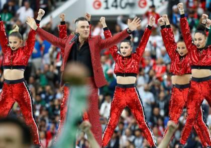 بالصور .. حفل افتتاح كأس العالم 2018 في روسيا