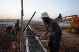 الاحتلال يقرر منع ادخال العمال الى المستوطنات المحيطة برام الله