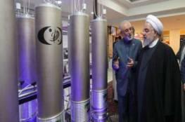 روحاني يعلن البدء بضخ غاز اليورانيوم  في أجهزة الطرد المركزي بمفاعل نطنز النووي
