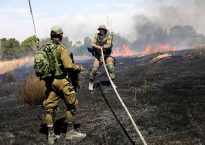 إصابة جندي بفعل طائرات ورقية حارقة في غلاف غزة