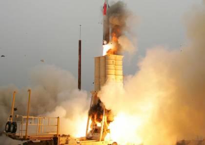 تل ابيب: الصاروخ السوري الذي تم اعتراضه كان يحمل رأس متفجر يزن 200 كيلوجرام