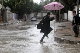 طقس فلسطين: بارد وماطر رغم انحسار المنخفض الجوي
